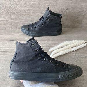 Converse Chuck Taylor ii Hi Black Shoes